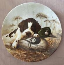 Vintage Knowles Dog Tired - The Springer Spaniel Lynn Kaatz Porcelain Plate