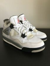Nike Air Jordan Retro 4 White Cement Size 6Y Concord Bred 11 3 5 6 7 8 9 10 13 2