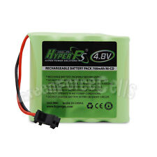 4.8V 700mAh NI-CD Rechargeable Battery Pack Cell SM Plug For Toy RC HyperPS