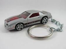 1985 CHEVROLET Chevy CAMARO IROC-Z Coupe Silver Key FOB Keyring Keychain