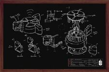 Poster DOCTOR WHO - Chalk Board - Quer ca90x60 NEU 58508