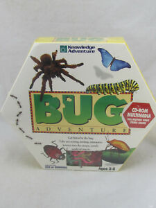 NEW - Bug Adventure by Knowledge Adventure PC Game (Big Box) Sealed