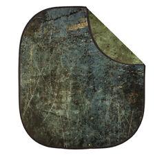 2x2.3m Doble Doble Cara con textura Gravity Vintage plegable fondo verde oliva