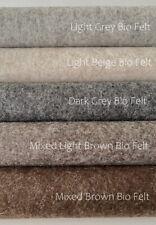 De WITTE Engel 100% Wolle Bio Filz 20 CM x 30 CM x 1.2 mm/verschiedene Farben NEU!