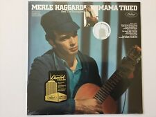 1968 MERLE HAGGARD Mama Tried CAPITOL AUDIOPHILE REMASTER 180 GRAM LP SEALED