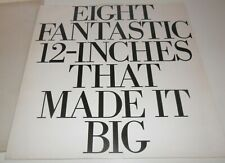 WHAM! Eight Fantastic 12-inches That Made It Big 1985 Vinyl Promo George Michael