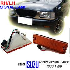 FOR Isuzu Pick Rodeo KBZ KB26 1980-89 Front Bumper Turn Signal Lights Lamp LH RH