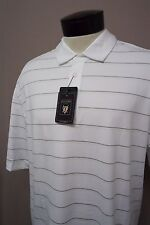 NEW! River Crest Oxford Golf White short sleeve polo shirt sz XL mens #4707 c108