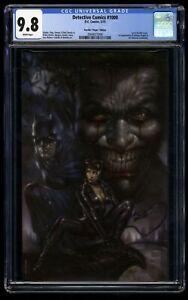 Detective Comics #1000 CGC NM/M 9.8 White Pages Parrillo Virgin Variant