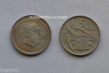 valuta di 5 pesetas 1957 61 Franco OLTRE libero SC