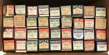 1920s/40s Lot of 36 Piano Player Word Cylinder Music Rolls VocalStyle Jewel QRS