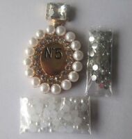 A66 gold perfume bottle 3D DIY Mobile Cell Phone Case Crystal Deco Den Kit