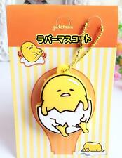 Gudetama egg have foot silica gel Key Met Protective Cover anime key ornament