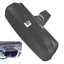 1X Brillenetui Sonnenbrille Auto Sonnenblende Etui Aufbewahrung Tasche Schwarz