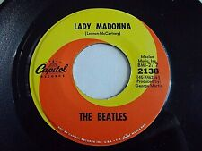 The Beatles Lady Madonna / The Inner Light 45 1968 Capitol Vinyl Record