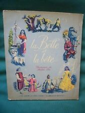 Albums du Père Castor) La Belle et la Bête, illustrations de André Pec, 1951