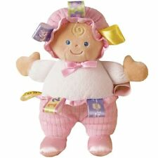 """Mary Meyer Taggies 8"""" Baby Doll Plush Toy ~ from Authorized Retailer"""