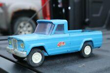 Tonka Jeep Pickup Truck - Pressed Steel - Mound Minn - blue