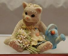 "Collectible Calico Kittens ""Planting The Seeds Of Friendship"" Enesco No 623547"