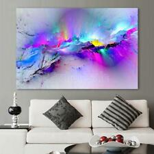 Modern Abstract Large Colorful Wall Art Oil Painting On Canvas Unframed L