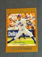 Pedro Martinez New York Mets 2007 Topps Copper #500 2/56