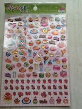 DEKORATION STICKER AUFKLEBER AUTOCOLLANT SÜßES SWEETS BONBONS JAPAN BRIEF DEKO