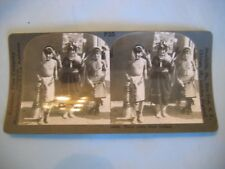 Keystone View Company P25 3 Little Natives 34407 More Stereoviews Listed!