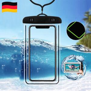Dry Bag Tasche Wasserdicht Unterwasser Handy Schutzhülle Case Hülle bis 6,5 Zoll