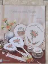 VINTAGE 1993 'RIBBONS AND ROSES' CROSS STITCH CHARTS BOOKLET