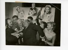 Raymond Rouleau et Tilda Thamar  Vintage silver Print,Raymond Rouleau (à gauch