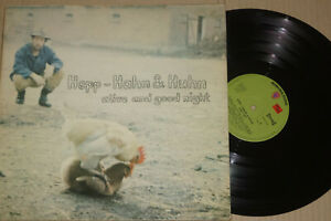 Hardy Hepp -Hepp - Hahn & Huhn Alive And Goodnight- LP Warner Bros. Records 
