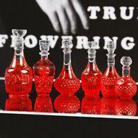 10Pcs 1:12 Dollhouse Miniature Wine Drink Bottles Model Kitchen Food Accessories