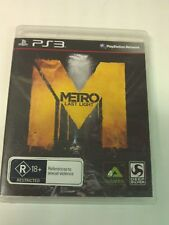 Metro Last Light PS3 Playstation 3