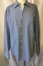 Ben Sherman Long Sleeve Mens Cotton Shirt Size Large  16. 34/35 Sleeves