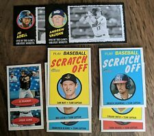 2020 Topps Heritage Minor League lot of 10 inserts box toppers Scratch Off