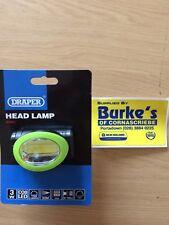 Draper 3 Watt COB LED 150 Lumens Head Torch Lamp Headlight Camping Fishing 65967