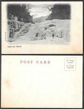 Old Scotland Postcard - Corra Linn, Lanark - Winter Scene