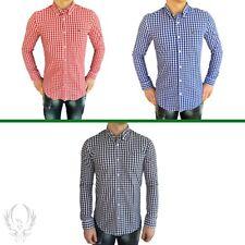 Lacoste Langarm Herren-Freizeithemden & -Shirts mit Button-Down-Kragen
