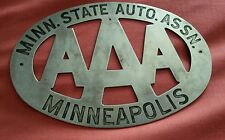 054 aaa club automobile membres badge minnesota state auto. assn minneapolis mn state usa