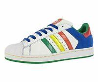 Adidas Superstar Ii Cb Mens Shoes White/multi-color, White/Multi-color, Size 8.5
