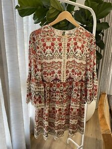 thurley dress Size 8 , Silk