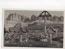 Cimitero Militare Al Passo Pordoi Italy 1933 RP Postcard 471b