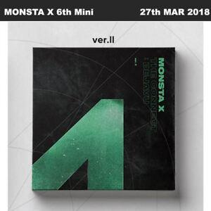 MONSTA X The Connect:Dejavu 6th Mini Album Ver.II CD+Booklet+Card+Etc