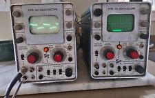 Qty 2 Tektronix 321 Oscilloscopes Vintage Electronic Test As Is