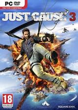 Just Cause 3 (PC-DVD) BRAND NEW SEALED