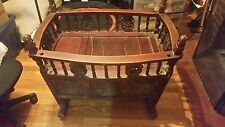 19th Century Chinese Baby Cradle - Cypress Wood - 37.75""