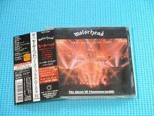 MOTORHEAD No Sleep 'til Hammersmith 1997 OOP CD Japan VICP-2151 OBI