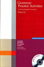 Cambridge GRAMMAR PRACTICE ACTIVITIES A Guide for Teachers w CD-ROM 2nd Edit NEW
