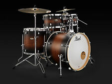 PEARL Decade Maple Studio Satin Brown Burst drum set