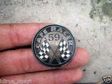 VINTAGE ACE CAFE RACER BIKER PIN 59 TON UP POKER ROCKER TRIUMPH BSA HONDA